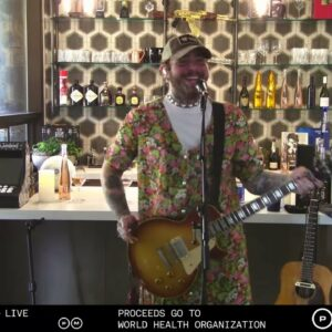 Post Malone Does Nirvana Tribute and Kills It