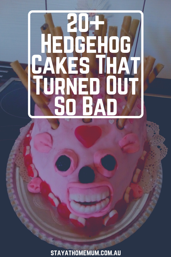 20+ Hedgehog Cakes That Turned Out So Bad | Stay At Home Mum