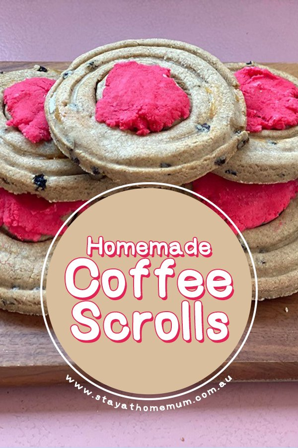 Homemade Coffee Scrolls - Stay at Home Mum
