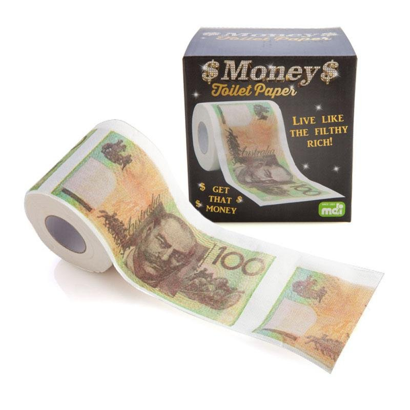 AUSTRALIAN DOLLAR NOTES Toilet Paper | Stay At Home Mum