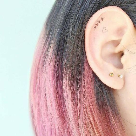 Tiny Ear Tattoos | Stay At Home Mum