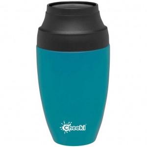 Cheeki Insulated Coffee Mug 350ml - Topaz | Stay At Home Mum