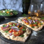 Fresh Heirloom Tomato and Spanish Onion Pizza | Stay at Home Mum