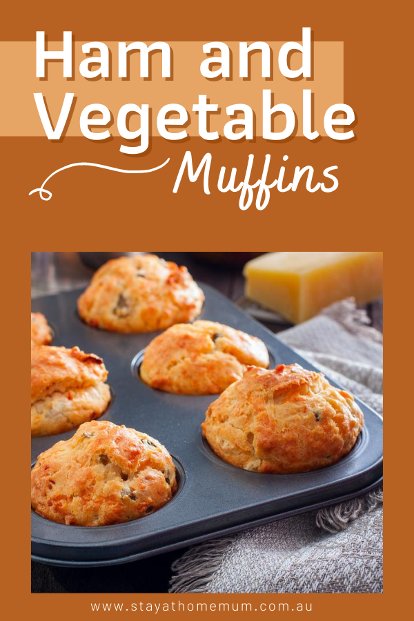 Ham and Vegetable Muffins | Stay at Home Mum