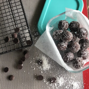 Fruit and Nut Snack Bliss Balls