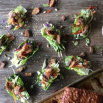 Crispy Pork San Choy Bow with Sesame and Tahini Dressing | Stay at Home Mum
