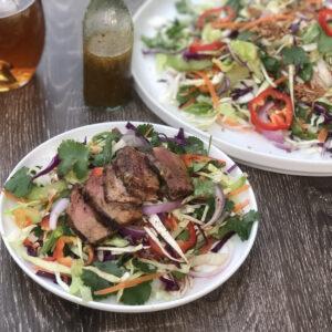 Thai-Inspired Salad with Lamb Backstrap