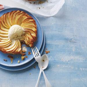 Apple & Almond Frangipane Tarts