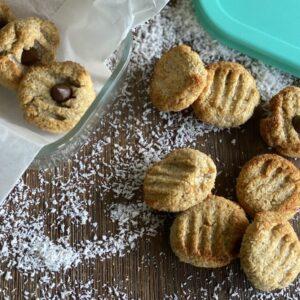 2-Ingredient Coconut Cookies