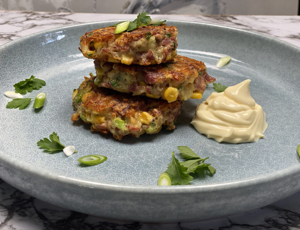 Corned Beef Fritters | Stay At Home Mum