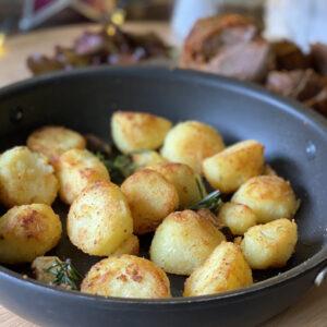 Rosemary and Garlic Duck Fat Potatoes