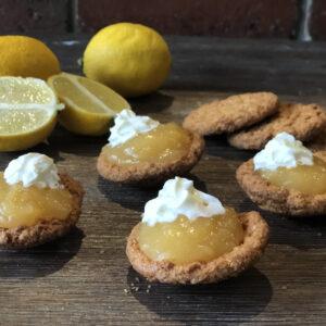 Dirty Ass Cheater Lemon Curd Tarts