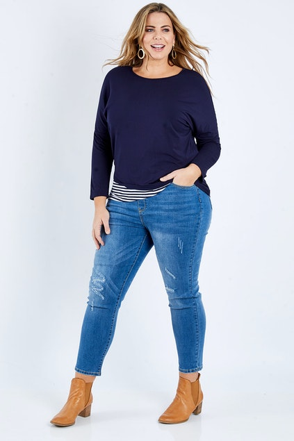 Threadz Pull On Ripped Jeans | Stay at Home Mum