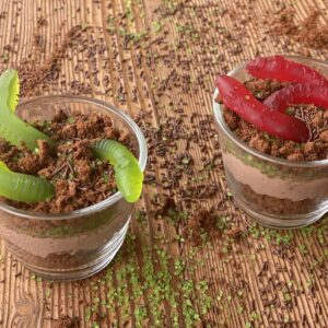 Worms in Dirt Choco Mousse
