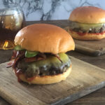 Cheese and Bacon Burger | Stay at Home Mum