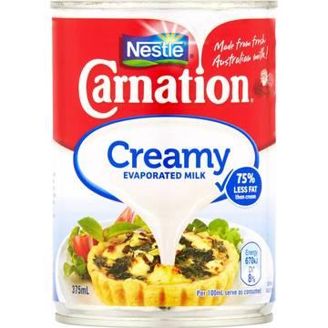 Nestle carnation creamy evaporated milk 375   Stay at Home Mum.com.au