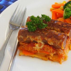 Frugal Sausage Casserole