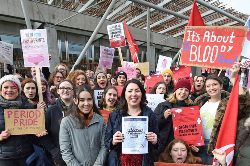 Free Sanitary Products For All In Scotland, A First Worldwide | Stay At Home Mum