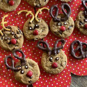 Easy Peasy Reindeer Cookies