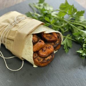 Sweet Potato Vegan Wraps (with only 2 main ingredients!)