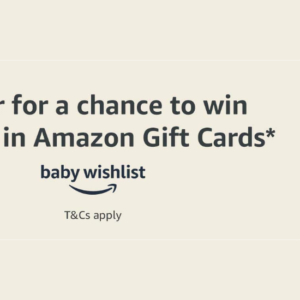 Competition – Win 5K with Amazon Baby Gift Registry