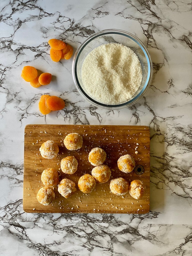 Apricot Balls | Stay At Home Mum