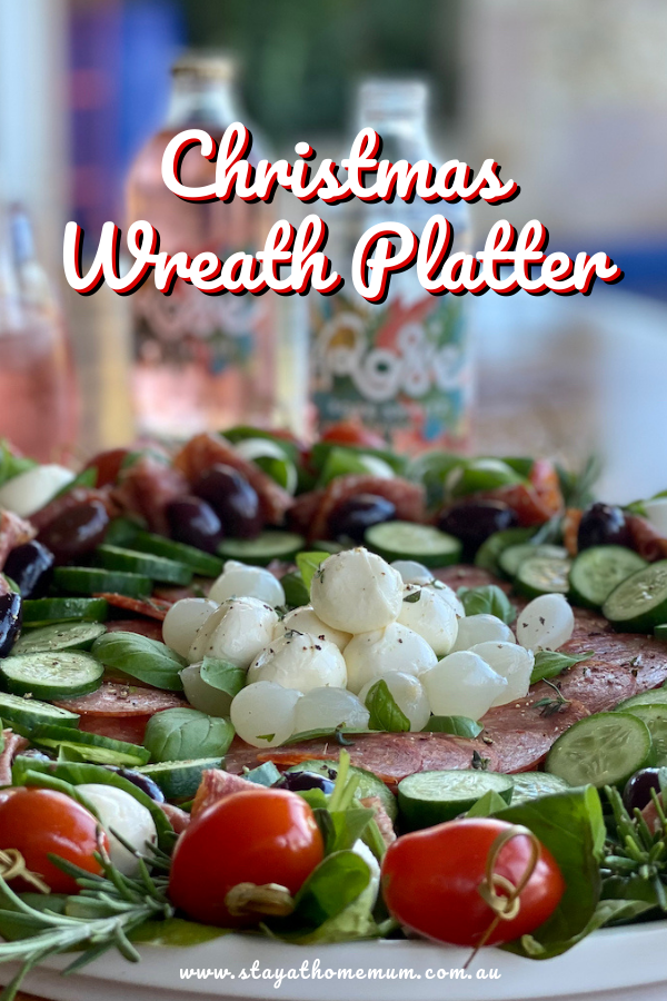 Christmas Wreath Platter | Stay at Home Mum
