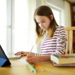 bigstock Smart Preteen Schoolgirl Doing 357074792 | Stay at Home Mum.com.au