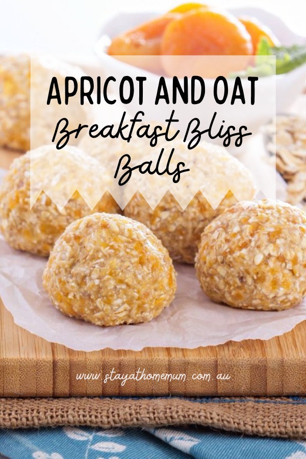 Apricot and Oat Breakfast Bliss Balls | Stay at Home Mum