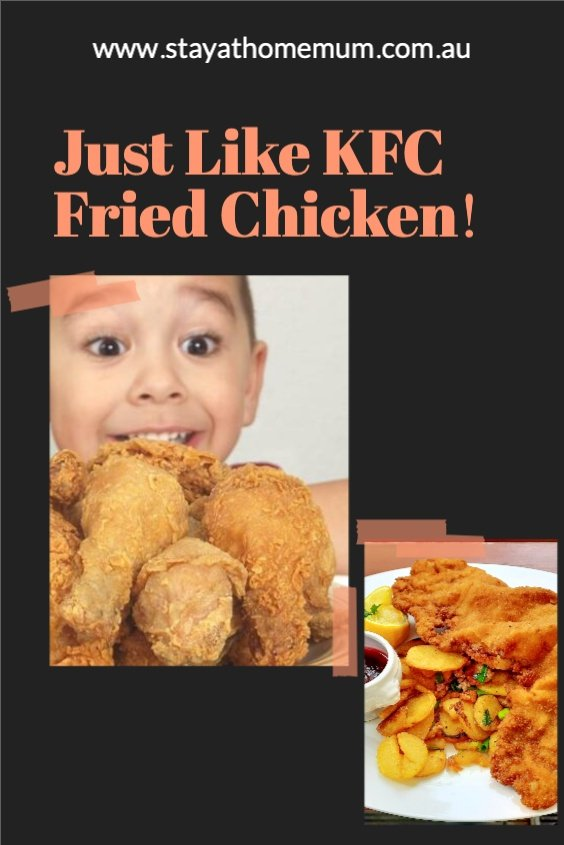 Just Like KFC Fried Chicken   Stay At Home Mum