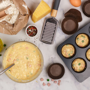Bulk Savoury Muffins that Work Out to 17c Each