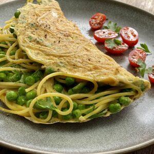 Spaghetti Omelette