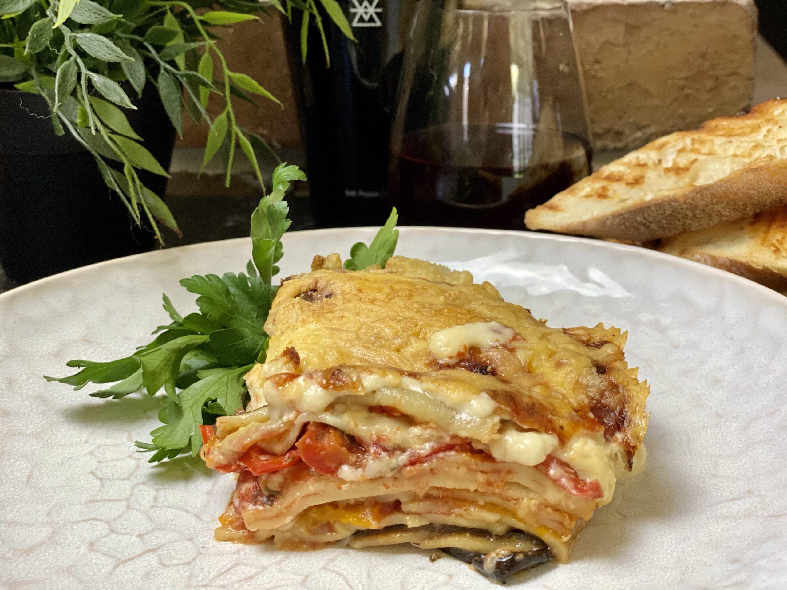 Frugal Vegetarian Lasagne