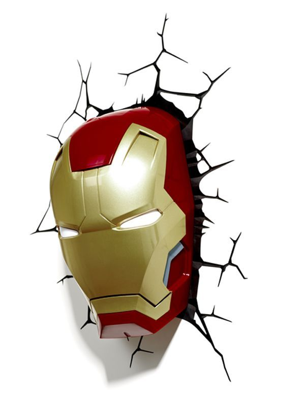 3D Marvel Iron Man Mask | Stay At Home Mum