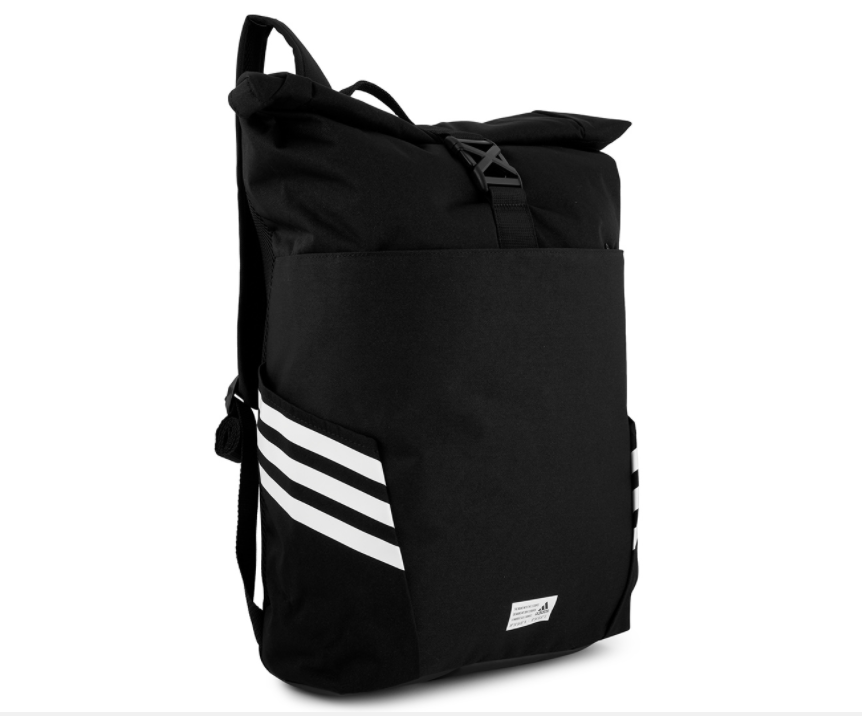 Adidas Roll-Top Backpack | Stay At Home Mum