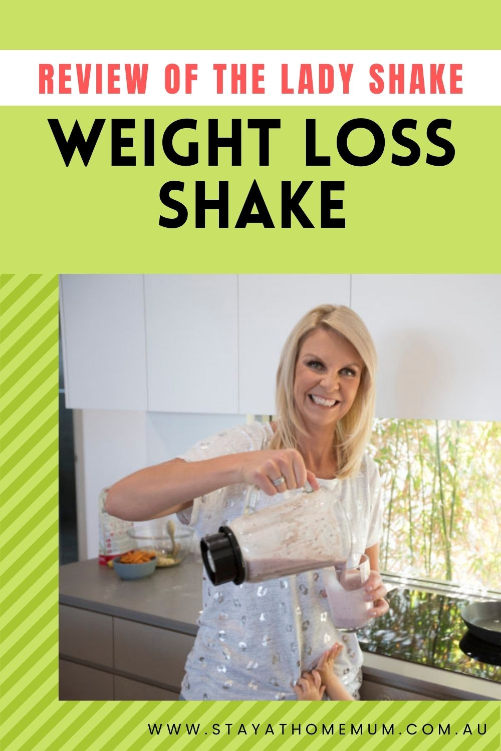 Review of The Lady Shake Weight Loss Shake | Stay at Home Mum