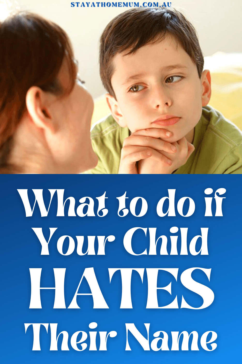 What to do if Your Child HATES Their Name | Stay At Home Mum