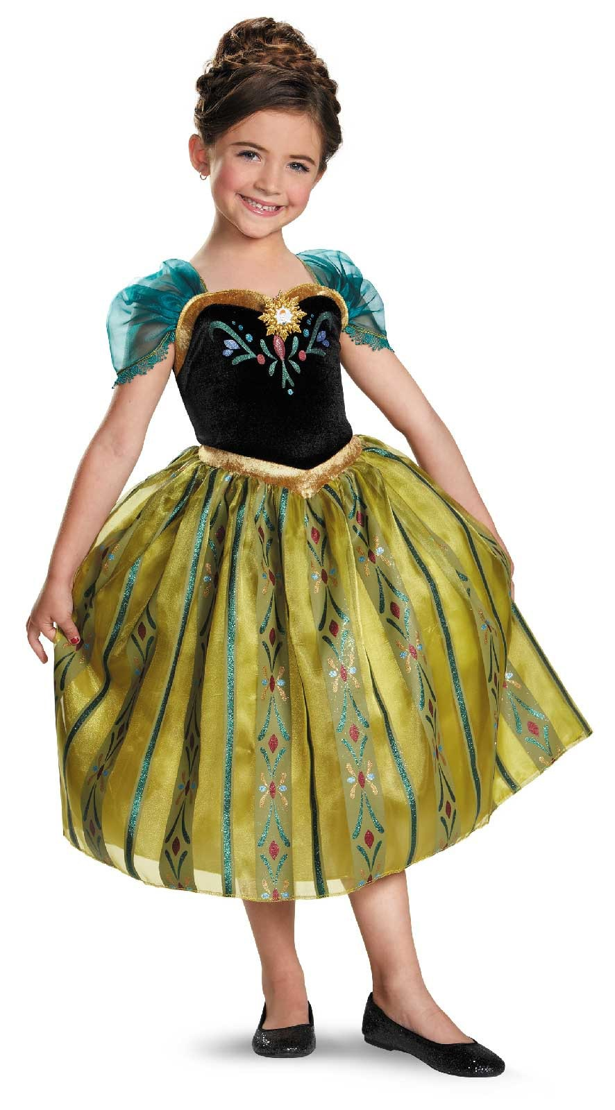 Frozen Anna Coronation Deluxe Child Costume Disguise DS DG76909 31 | Stay at Home Mum.com.au