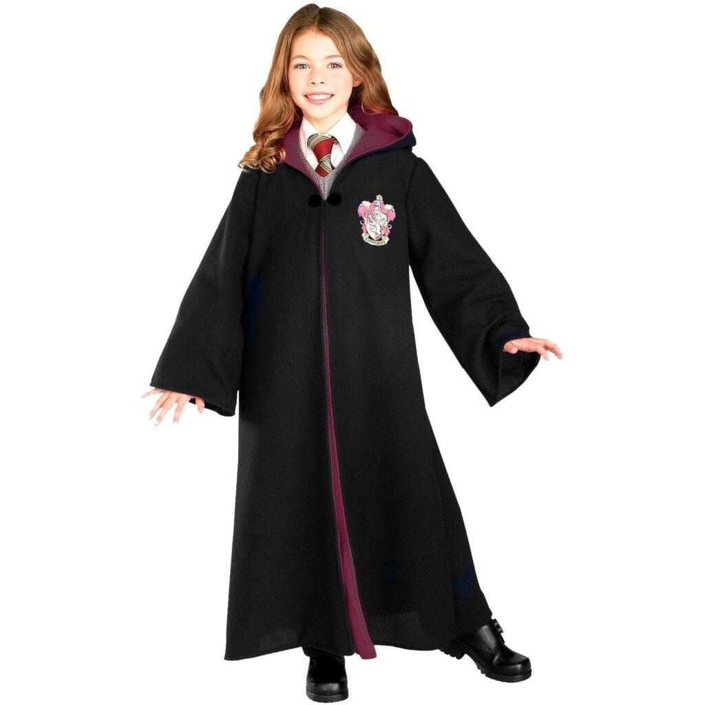 Harry Potter Deluxe Gryffindor Robe Child Costume Black Rubies Costumes DS RU884259 32 | Stay at Home Mum.com.au