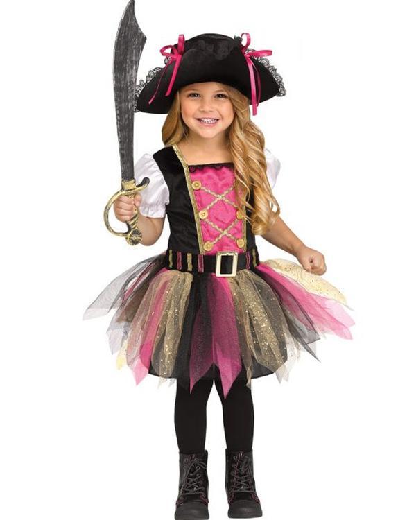 captain cutie toddler girls costume | Stay at Home Mum.com.au