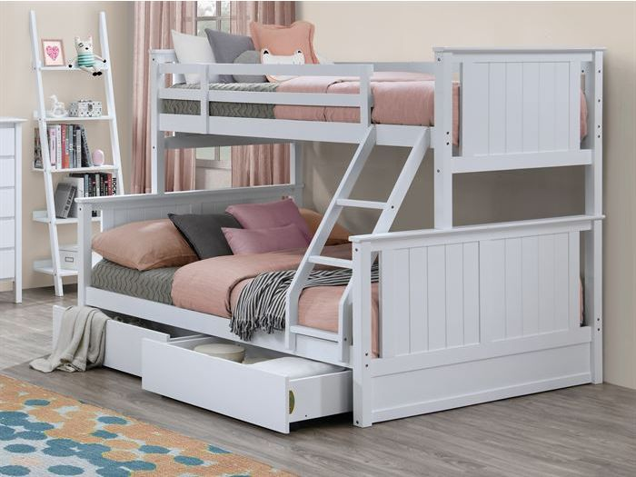 myer white triple bunk | Stay at Home Mum.com.au