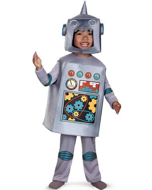 retro robot toddler boys costume | Stay at Home Mum.com.au