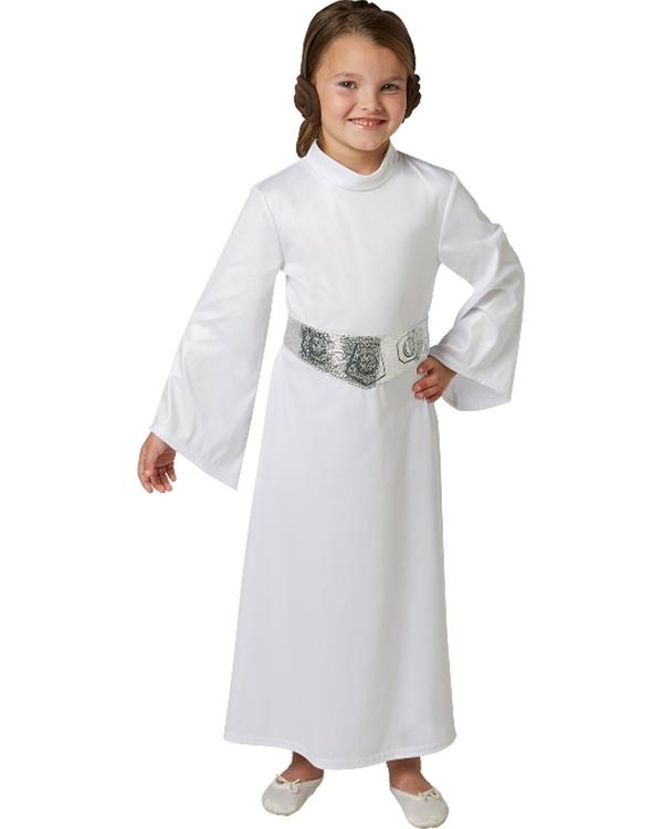 star wars princess leia classic girls costume 630878 | Stay at Home Mum.com.au