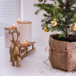 bigstock Small Decorated Christmas Tree 400086734 | Stay at Home Mum.com.au