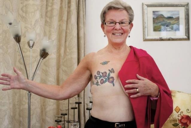liz butterfly mastectomy tattoo inspiration | Stay at Home Mum.com.au