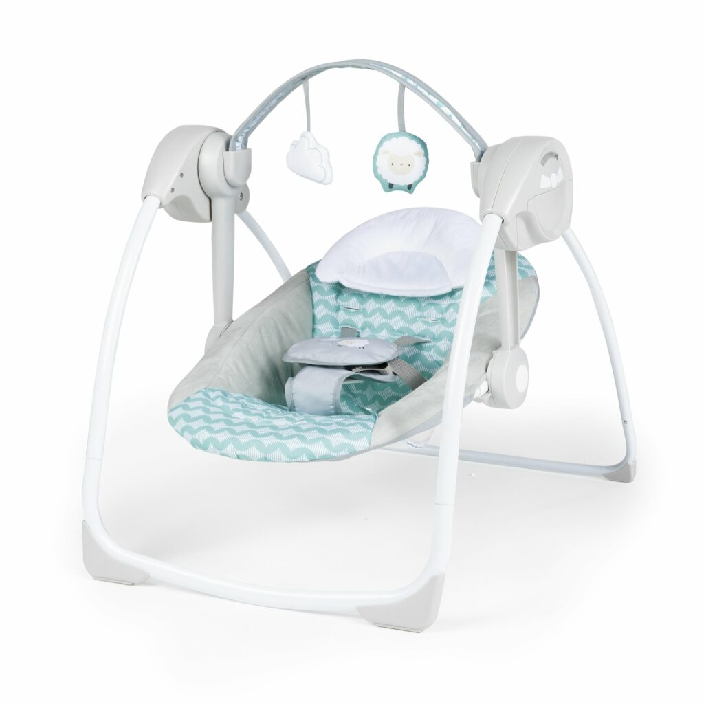 Ity by Ingenuity Swingity Swing Easy-Fold Portable Swing   Stay At Home Mum