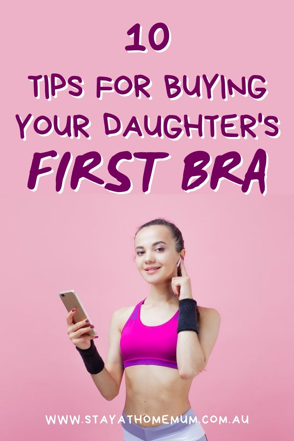 10 Tips for Buying Your Daughter's First Bra Pinnable