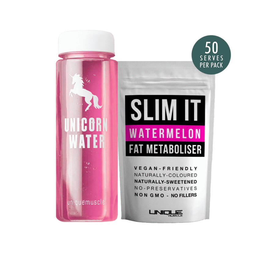 Unicorn Water Pack Flavoured Weight Loss Drink Slim It Watermelon Unique Muscle b3b748f8 f03d 4135 bf7b | Stay at Home Mum.com.au
